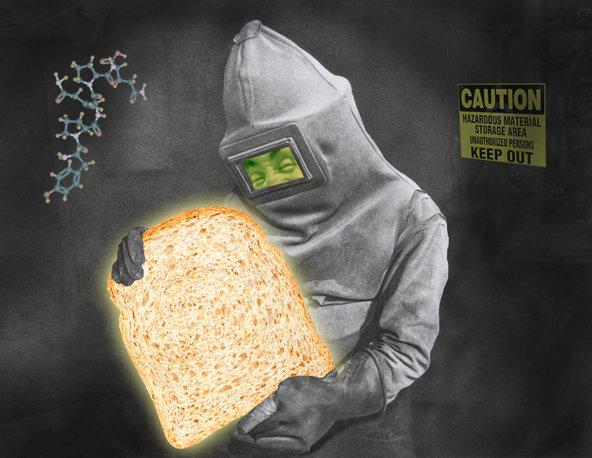 Gluten: A Tiny, Sticky Microscopic Protein